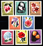 Albania 1965 Mi 959-966 Flowers MLH - Albanie