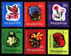 Albania 1965 Mi 988-993 Flowering Plants MNH - Albanie