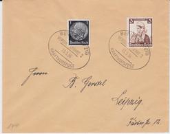 DR 3 Reich Bf Kraftkurspost Berlin - Leipzig Versuchsfahrt 2 1936 (1) - Cartas