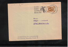Germany / Deutschland 1953 Cycling  German Traffic Exhibition Muenchen Interesting Cover - Ciclismo