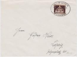DR 3 Reich Bf Kraftkurspost Berlin - Leipzig Versuchsfahrt 5 1936 (2) - Cartas