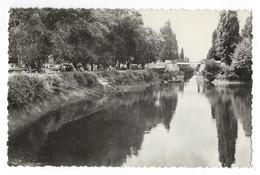 Coutras - Le Canal De Laubardemont, Coin De Pêche Et La Guinguette - Other Municipalities