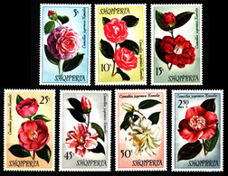Albania 1972 Mi 1549-1555 Camellias NG - Albanie