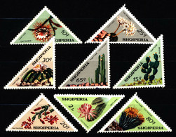 Albania 1973 Mi 1612-1619 Flowering Cacti NG - Albanie