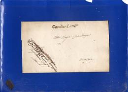 ##(DAN2105)-Piego Privo Di Testo Da Candia Lomellina Per Mantova - ...-1850 Préphilatélie