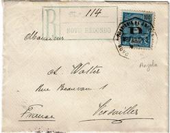 CTN68ETR-  ANGOLA LETTRE RECOMMANDEE NOVO REDONDO 9/2/1903 - Angola