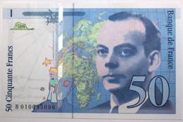 France - 50 Francs - 1993 - PICK 157b / F72.2 - Pr. NEUF - 50 F 1992-1999 ''St Exupéry''