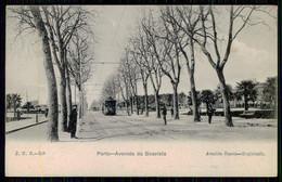 PORTO - Avenida Da Boavista.(RARO) (Ed. Arnaldo Soares - J.N.B. Nº 359)  Carte Postale - Porto