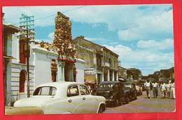 MALAYSIA  PENANG       MARIAMMAN TEMPLE  + OLD CARS  RP - Malaysia