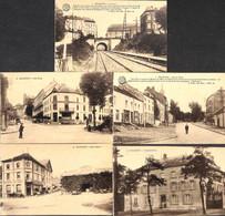 Rochefort - Lot De 5 Cartes (Propriété Delvaux.. Desaix) - Rochefort