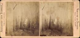 Stereo Photo Grotte De Glace Naturelle, Eishöhle, Stalagtiten - Altri