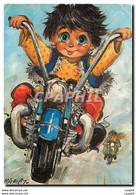 CPM Michel Thomas Ballade En Moto - Thomas