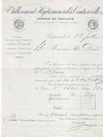 88,- ETABLISSEMENT HYDROMINERAL DE CONTREXEVILLE - SOURCE DU PAVILLON - Levensmiddelen
