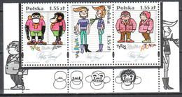 Poland  2009 - Tytus, Romek And Atomek - Mi.4427-29 - Strip Of 3 - MNH(**) - Usati