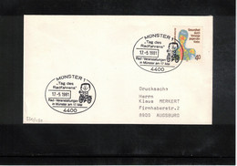 Germany / Deutschland 1981 Cycling  Cycling Day Muenster Interesting Cover - Ciclismo