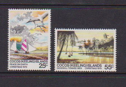 COCOS ( KEELING ) ISLANDS    1979    Christmas    Set  Of  3    MNH - Cocos (Keeling) Islands