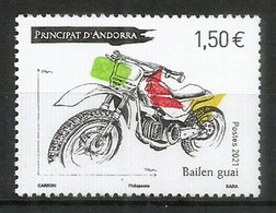 Atelier Bailén Motos (Moto Bailen Guai,fabriqué En Andorre). Un Timbre Neuf ** Année 2021 - Unused Stamps