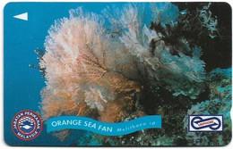 Malaysia (Uniphonekad) - Orange Sea Fan - 67MSAA - 1994, 200.000ex, Used - Maleisië