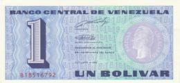 BANCONOTA VENEZUELA 1 UNC (HC1805 - Venezuela