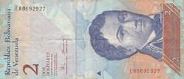 BANCONOTA VENEZUELA 2 VF (HC1844 - Venezuela