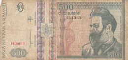 BANCONOTA ROMANIA 500 VF (HC1886 - Romania