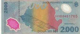 BANCONOTA ROMANIA 2000 VF (HC1912 - Romania
