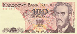 BANCONOTA POLONIA 100 EF (HC1929 - Poland