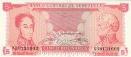 BANCONOTA VENEZUELA 5 UNC (HC2063 - Venezuela