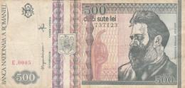 BANCONOTA ROMANIA 500 (HC2065 - Romania