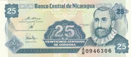 BANCONOTA NICARAGUA 25 CENTAVOS UNC (HC2071 - Nicaragua