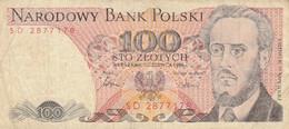 BANCONOTA POLONIA 100 VF (HC2072 - Poland