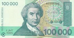 BANCONOTA CROAZIA 100000 UNC (HC2076 - Croatia