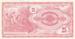 BANCONOTA MACEDONIA 25 UNC (HC2079 - Macedonia