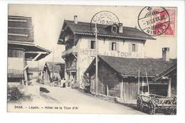 28005 - Leysin Hôtel De La Tour D'Aï - VD Vaud