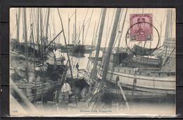 Johore Chinese Junk Rare Card (si4-25) - Malaysia