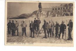28009 - Leysin Courses De Skis L'Arrivée - VD Vaud