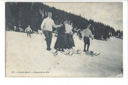 28011 - Leysin Sport Descente En Skis - VD Vaud