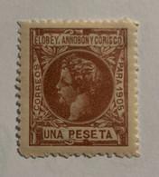 1905- ALFONSO XIII. EDIFICIL 30 * NUEVO CON FIJASELLO - Elobey, Annobon & Corisco