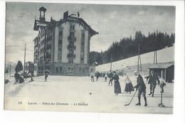 28014 - Leysin Hôtel Des Chamois Le Hockey Hommes Et Femmes - VD Vaud