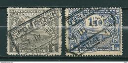 TR 91/92 Gestempeld TOURNAI - 1915-1921