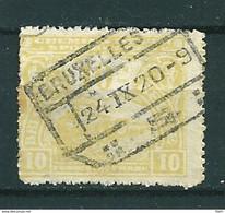 TR 124 Gestempeld BRUXELLES - Cote 22,00 - 1915-1921