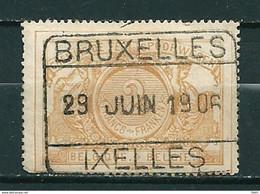 TR 14 Gestempeld BRUXELLES IXELLES - Cote 90,00 (zie Opm) - Used