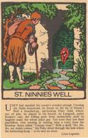 St Ninnies Wishing Well Looe Cornwall Legends 1970s Postcard - Sin Clasificación
