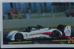 Petit Calendrier De Poche 1999 Voiture De Course Peugeot Esso - Blois Loir Et Cher Prévention Routière - Klein Formaat: 1991-00