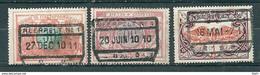 TR 32 + 35 + 41 Gestempeld NEERPELT N° 1 - 1895-1913