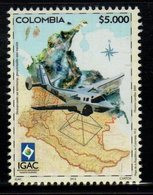 A708-COLOMBIA- 2015 -MNH- AGUSTIN CODAZZI GEOGRAPHIC INSTITUTE - Colombia