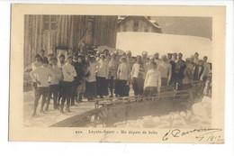 28024 - Leysin Un Départ De Bobs 1912 - VD Vaud