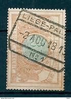 TR 33 Gestempeld LIEGE PALAIS N° 1 - 1895-1913