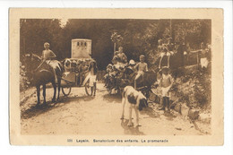 28026 - Leysin Sanatorium Des Enfants La Promenade - VD Vaud