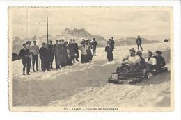 28030 - Leysin Courses De Bobsleighs 1919 (attention Pli) - VD Vaud